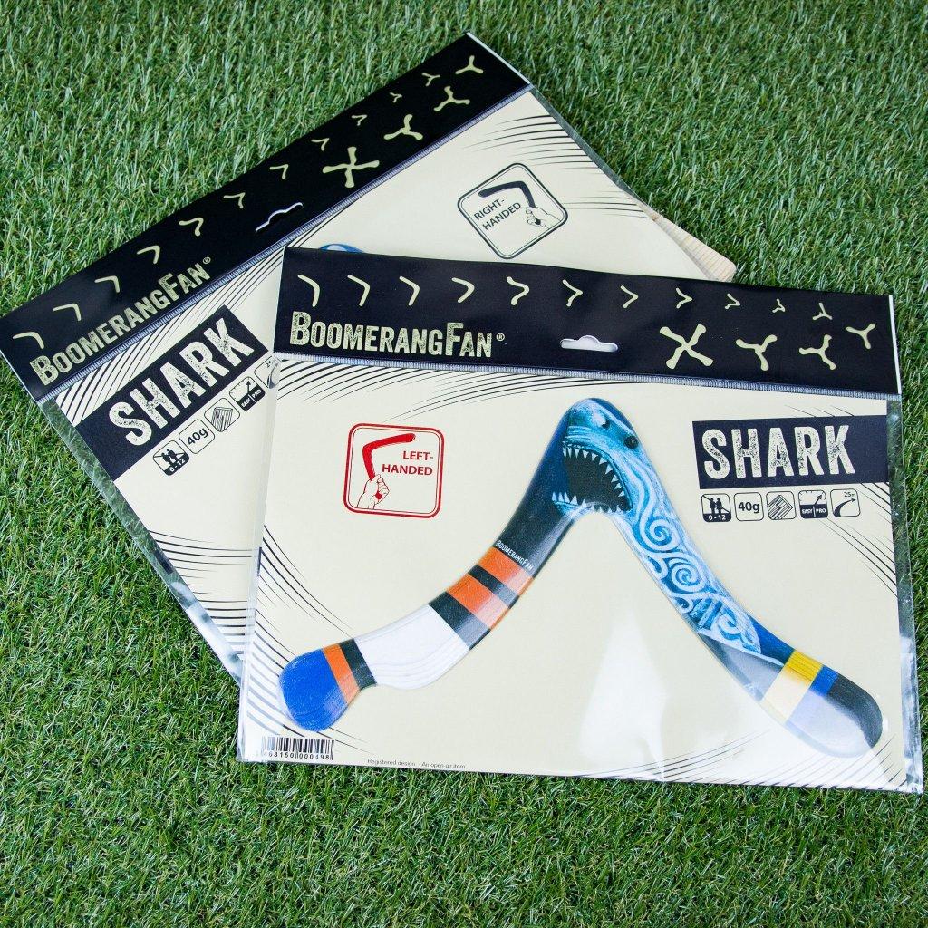 Bumerang Shark pro leváky (BoomerangFun)