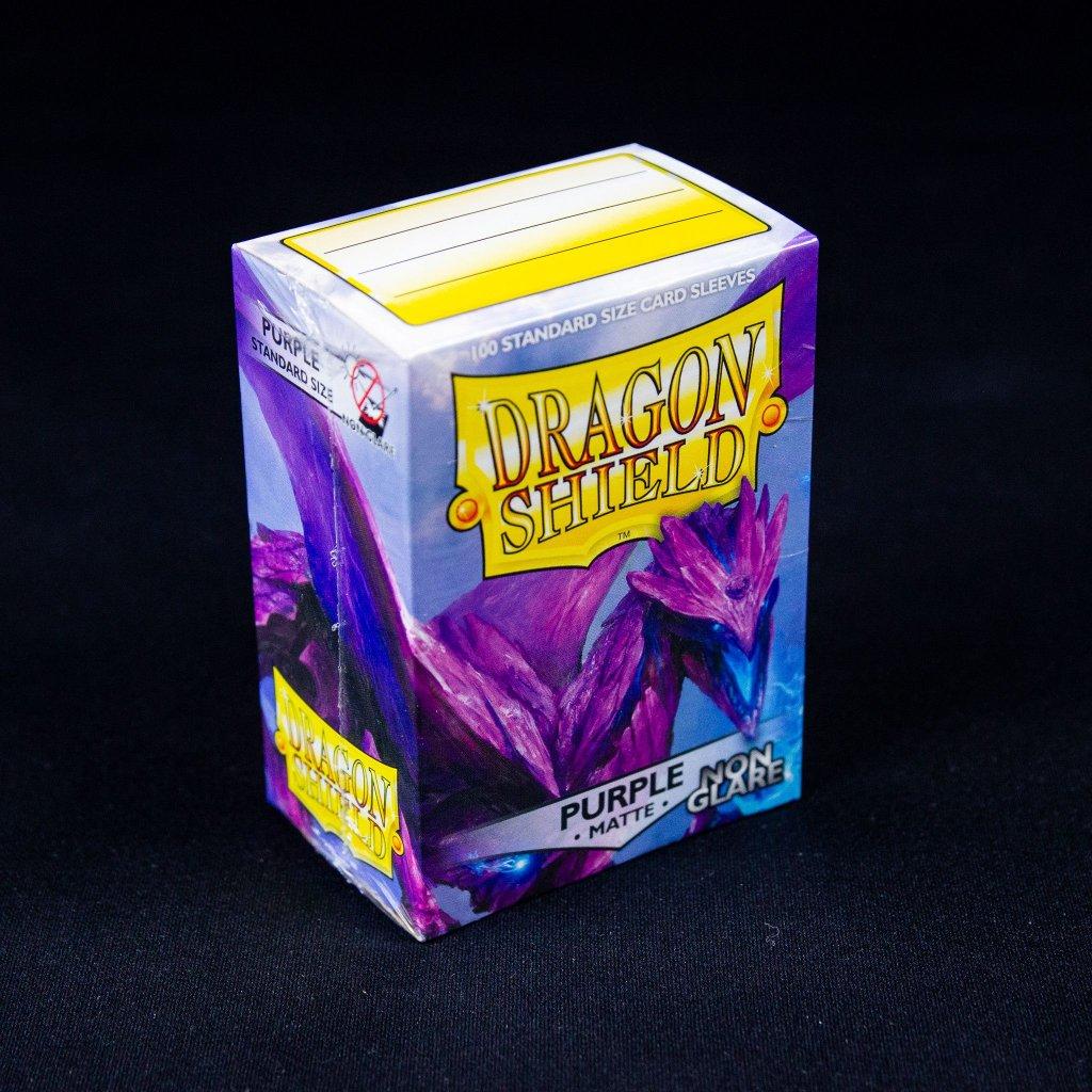 Purple Matte Non-Glare (100ks) - Dragon Shield obaly na karty