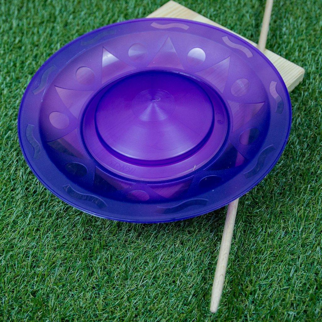 Žonglovací talíř + tyčka (Henrys)