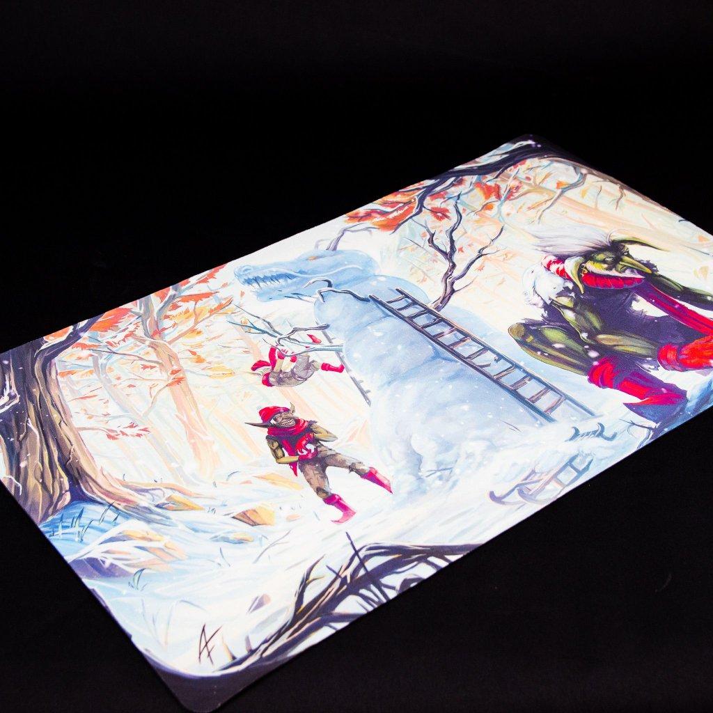 MTG podložka - Playmat Winter: Christmas Edition (Blackfire)