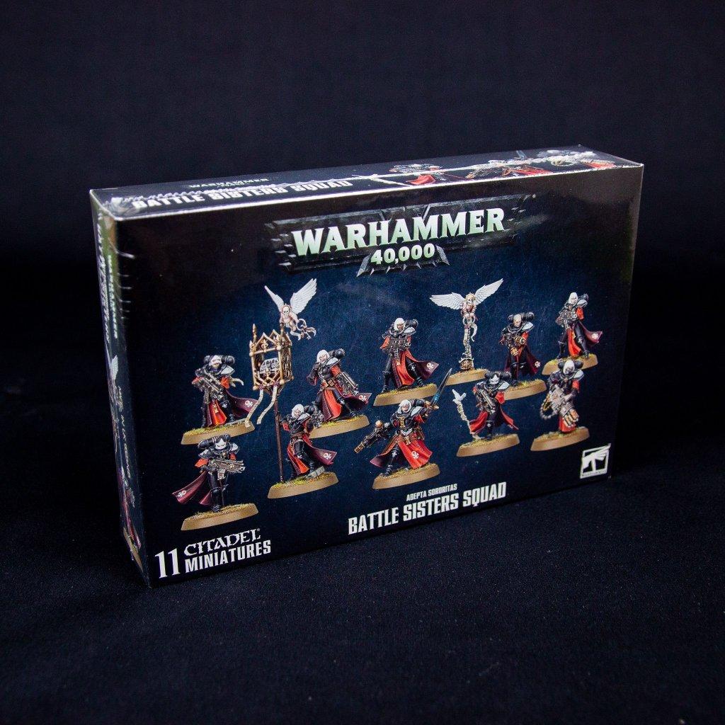 Warhammer 40000: Adepta Sororitas - Battle Sisters Squad