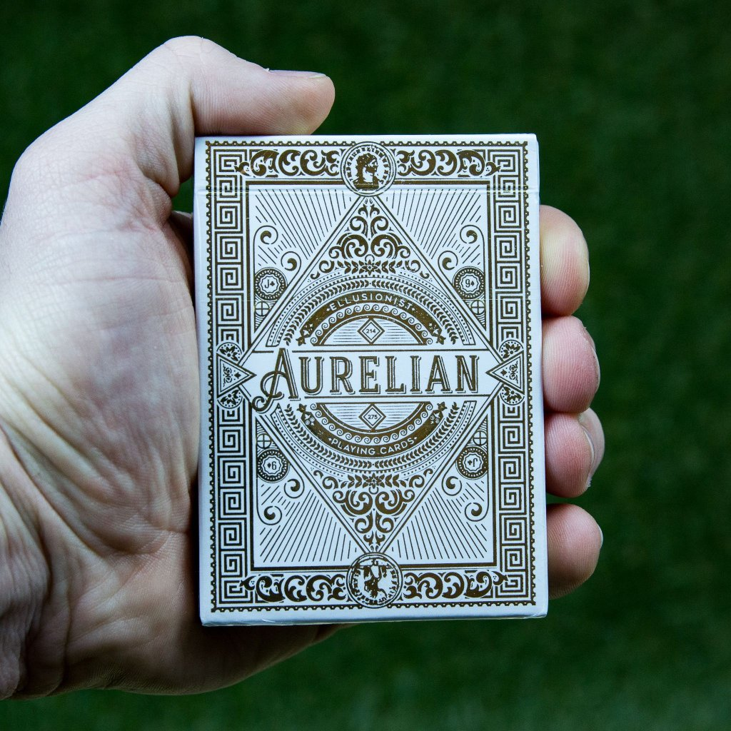 White Aurelian - karty (Ellusionist)