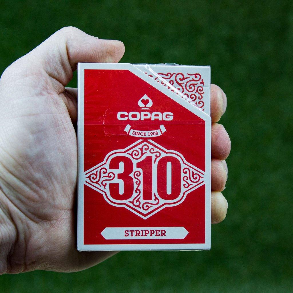 Copag 310 Stripper - Slim Line Red (Cartamundi)