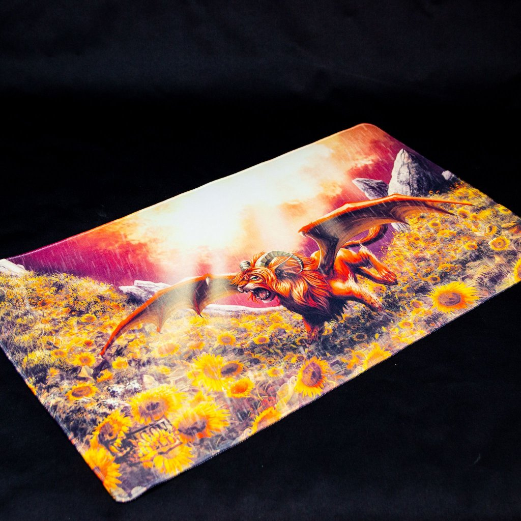 MTG podložka - playmat Dyrkottr Last of His Kin (Dragon Shield)