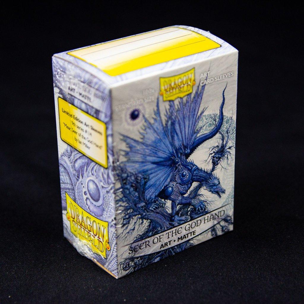 Obaly na karty Dragon Shield: Seer of the God Hand - Art matte (100ks)