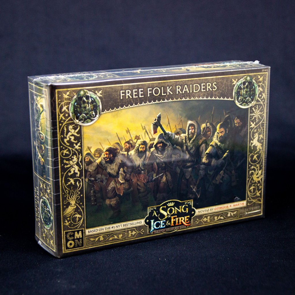 A Song Of Ice And Fire: Free Folk Raiders - EN (CMON)