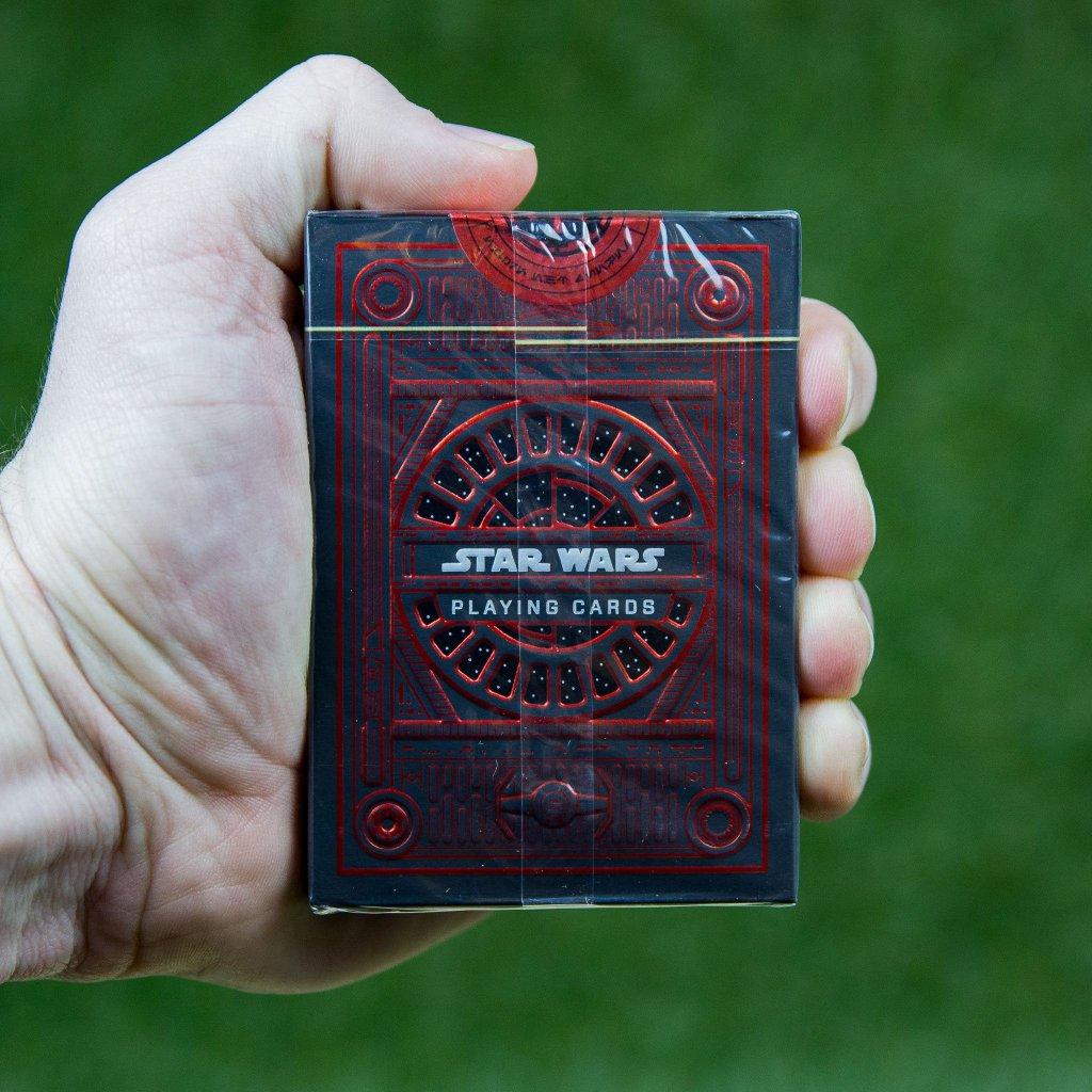 Star Wars karty - The Dark Side (červená) Theory11