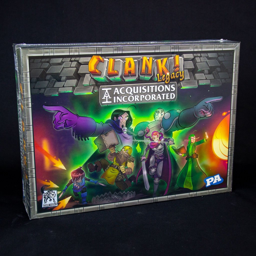 Clank! Legacy Acquisitions Incorporated - EN (Renegade Game)