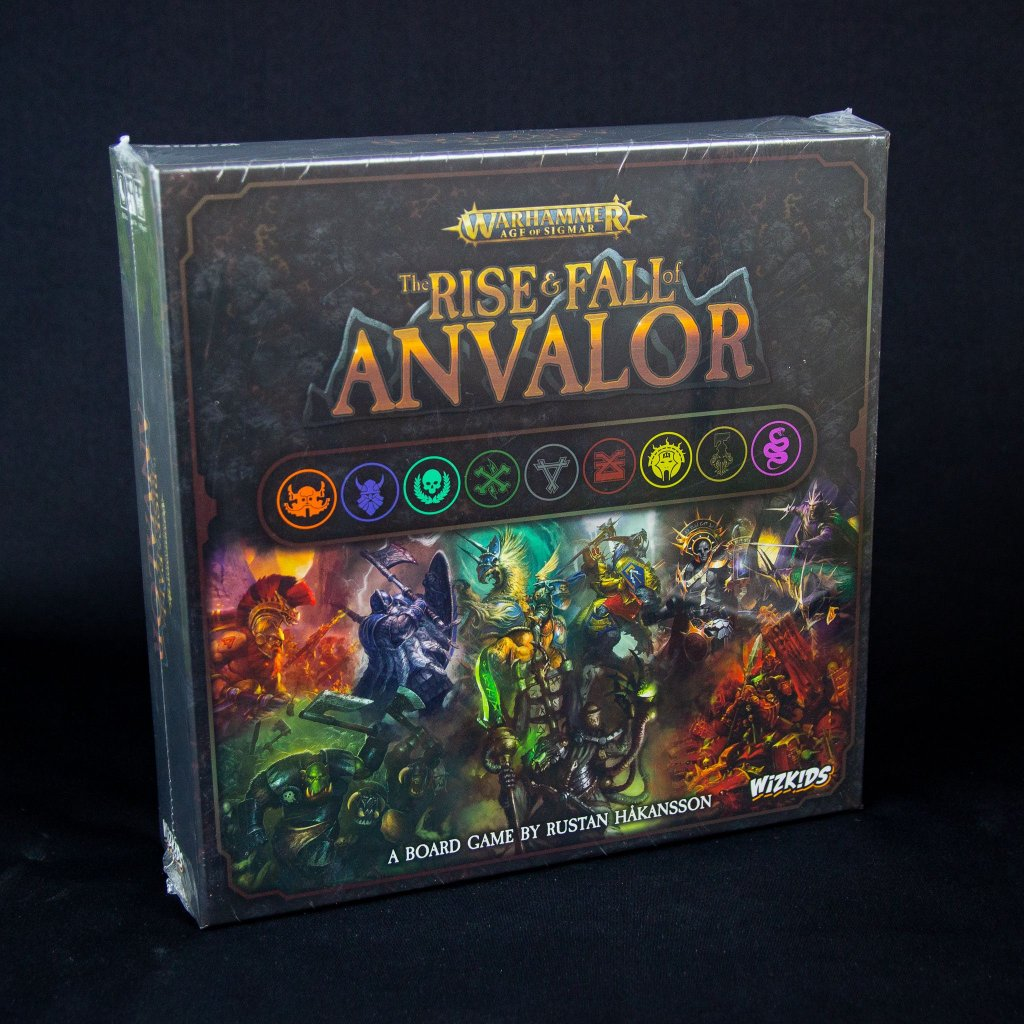 Warhammer: The Rise & Fall of Anvalor - EN (WizKids)