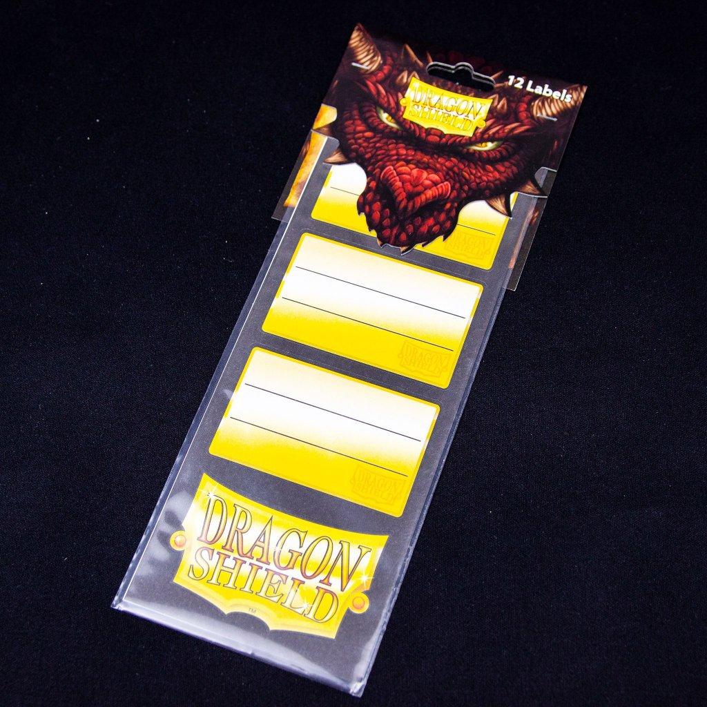 Label pack - 12 samolepek (Dragon Shield)