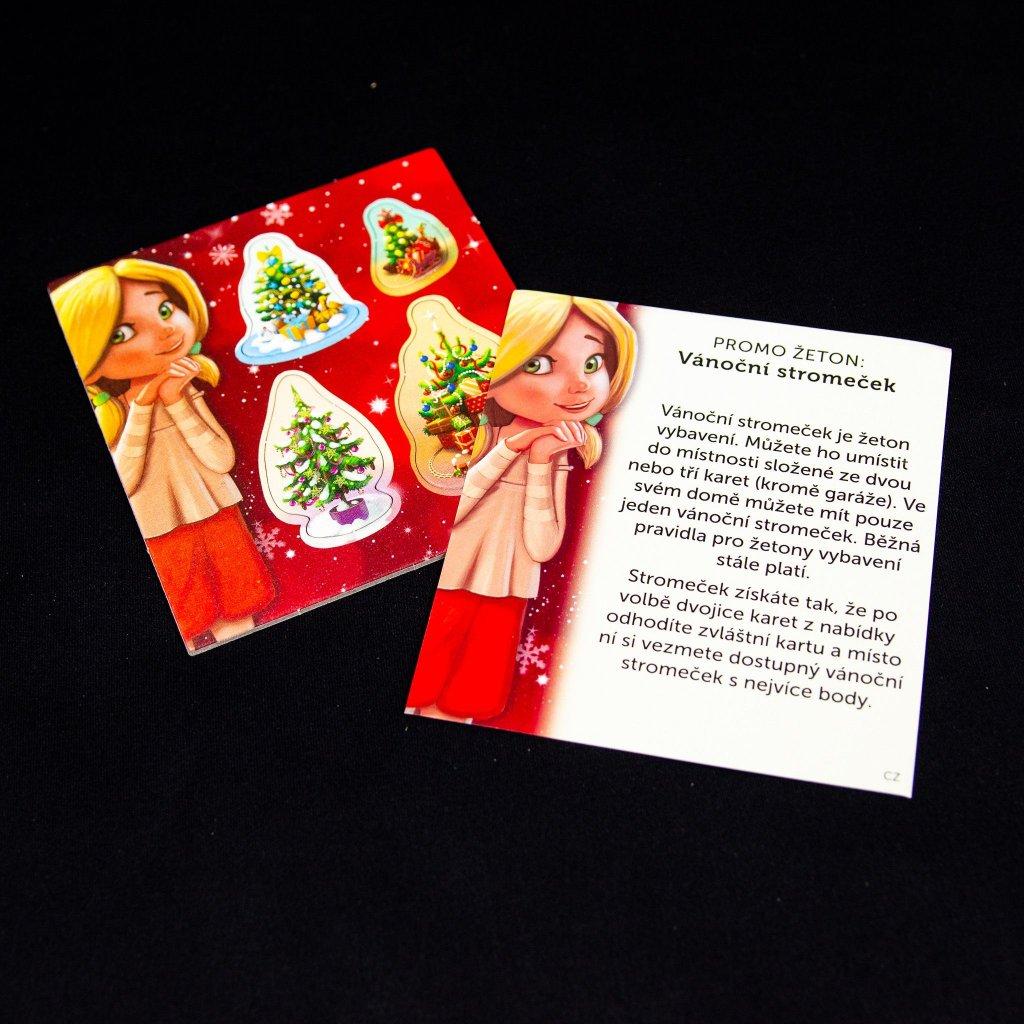 Dům snů: promo žeton - Vánoční stromeček (Asmodee)