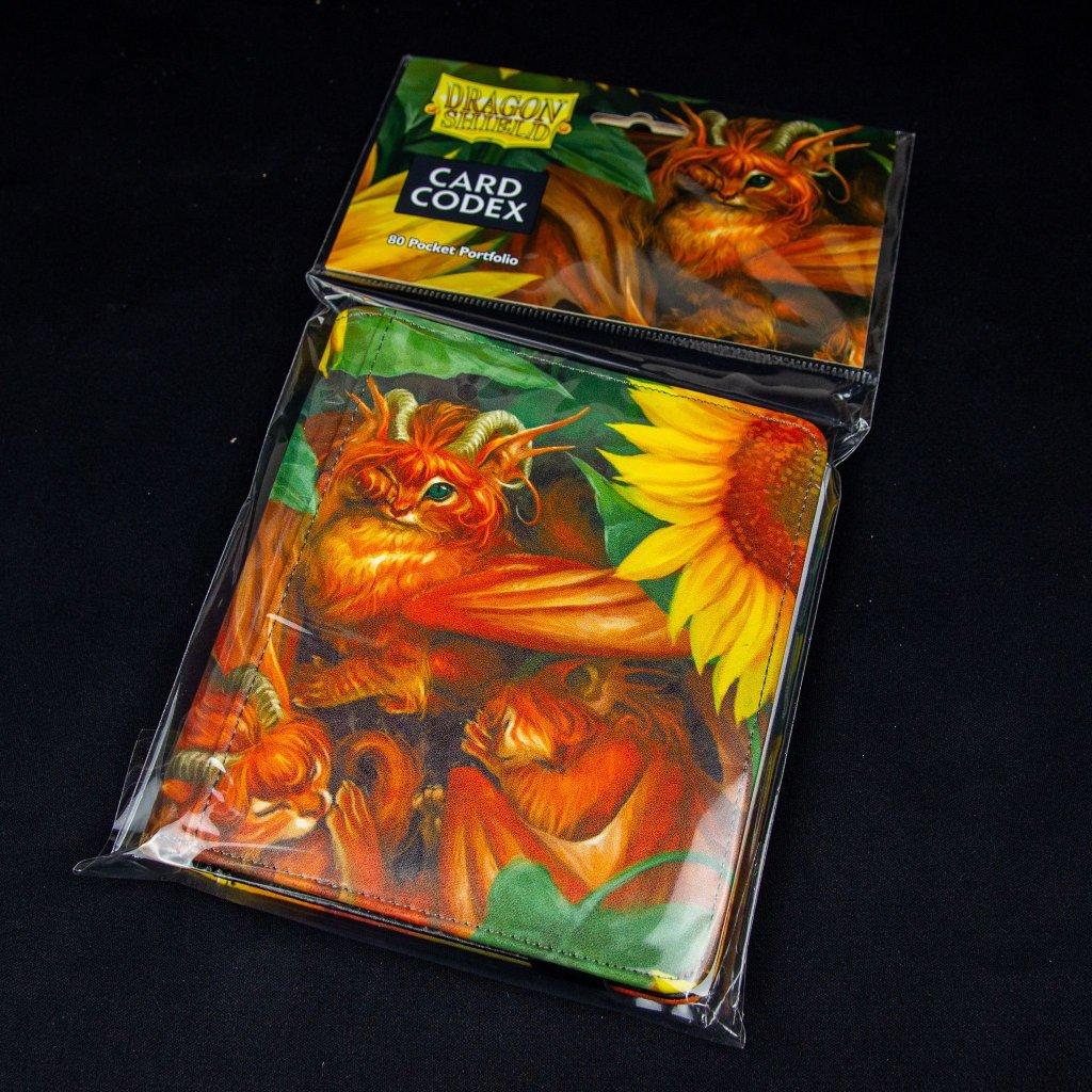 Album na 80 karet Card Codex: Tangerine 'Dyrkottr' (Dragon Shield)