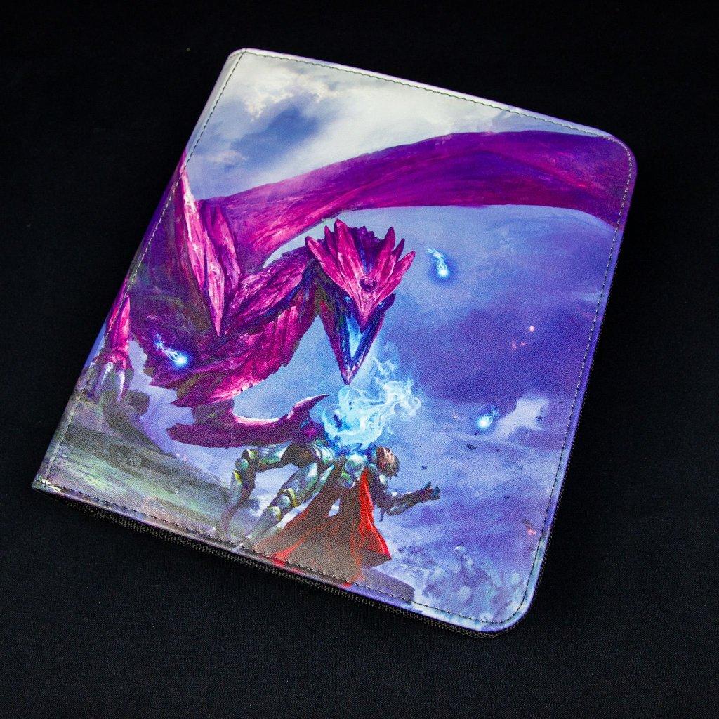 Album na karty Card Codex: Zipster Small Purple 'Amifist' (Dragon Shield)