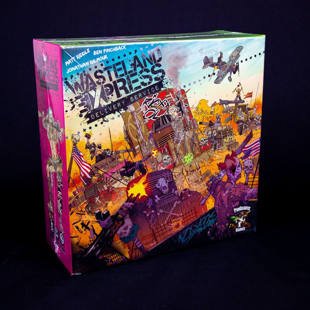 Wasteland Express Delivery Service - EN (Pandasaurus Games)