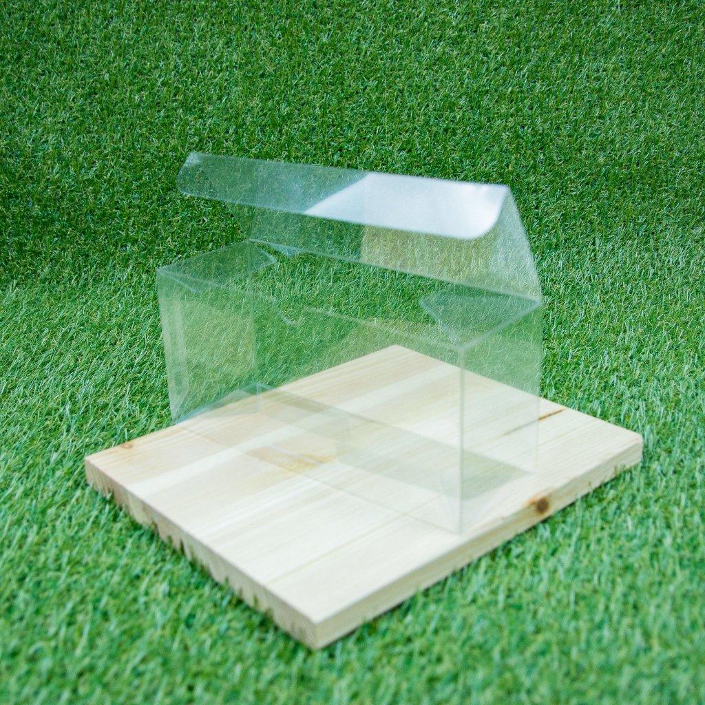 Plastová krabička na 12 balíčků karet - deck box