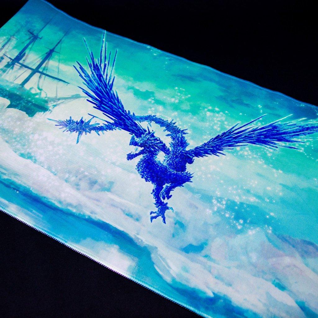 MTG podložka - playmat Celeste Light Clear Blue (Dragon Shield)