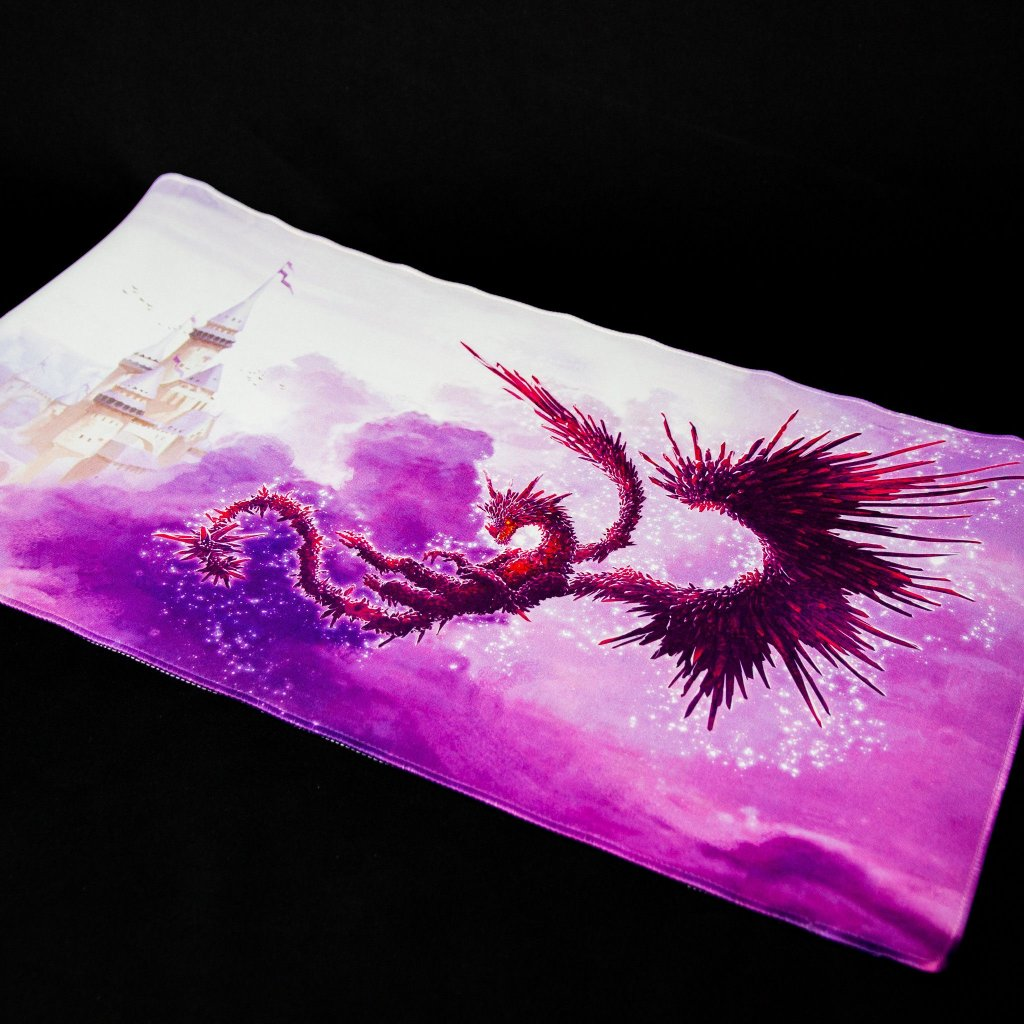 MTG podložka - playmat Racan Dark Clear Purple (Dragon Shield)