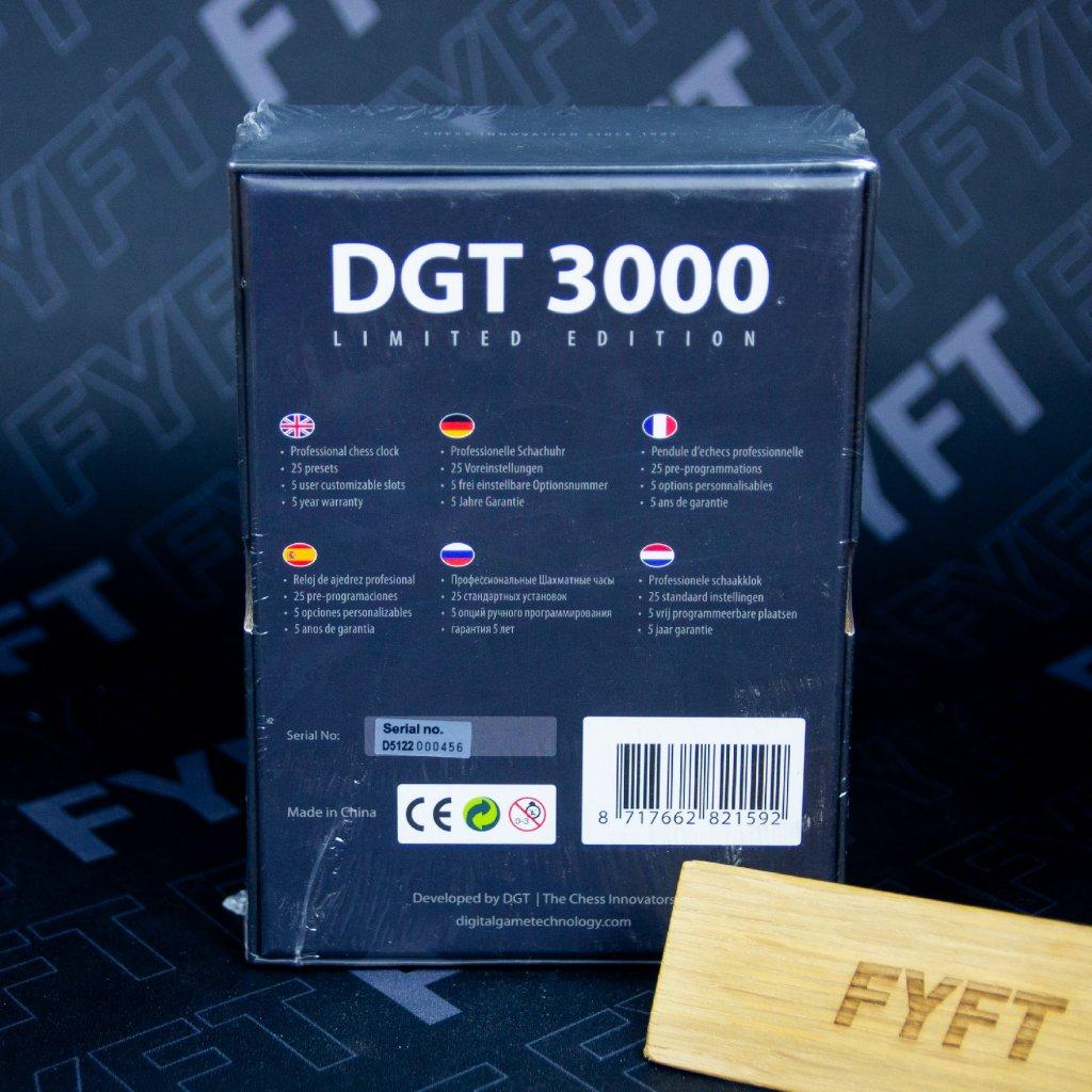 DGT3000 Limited edition Šachové hodiny (DGT)