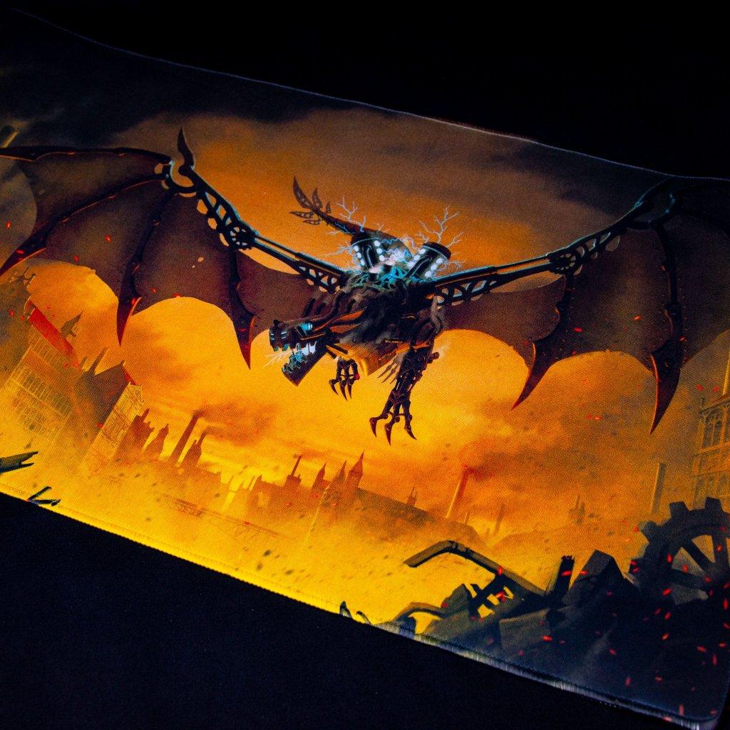 MTG podložka - playmat Draco Primus Unhinged (Dragon Shield)
