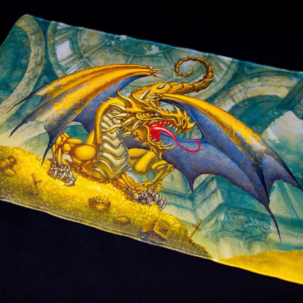 MTG podložka - playmat King Gygex the Golden (Dragon Shield)