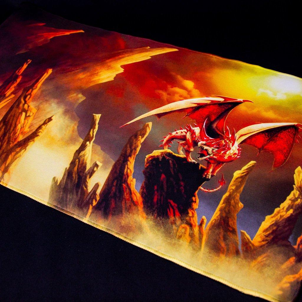 MTG podložka - playmat Rubis (Dragon Shield)