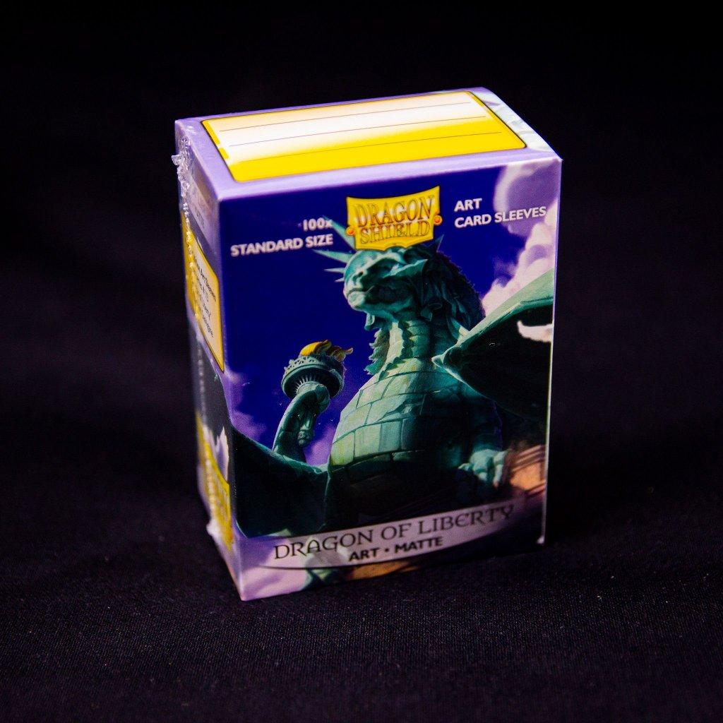 Obaly na karty Dragon Shield - Dragon of Liberty Art matte (100 ks)