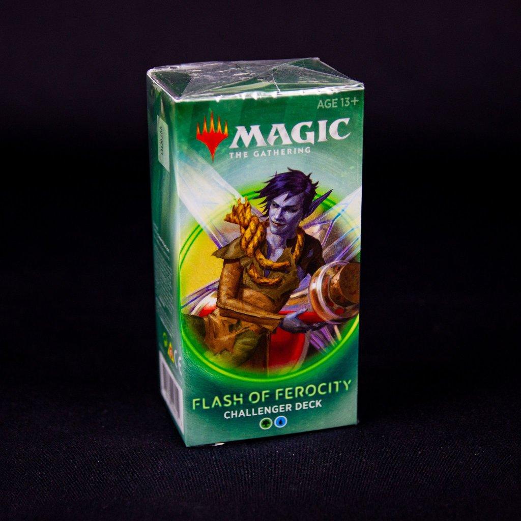 Flash of Ferocity Challenger deck 2020 MTG (Magic: The Gathering)