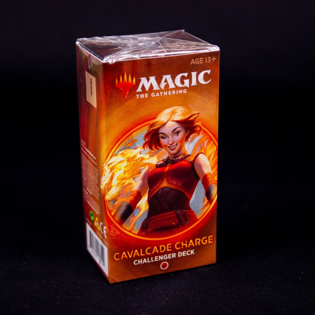 Cavalcade Charge Challenger deck 2020 MTG (Magic: The Gathering)