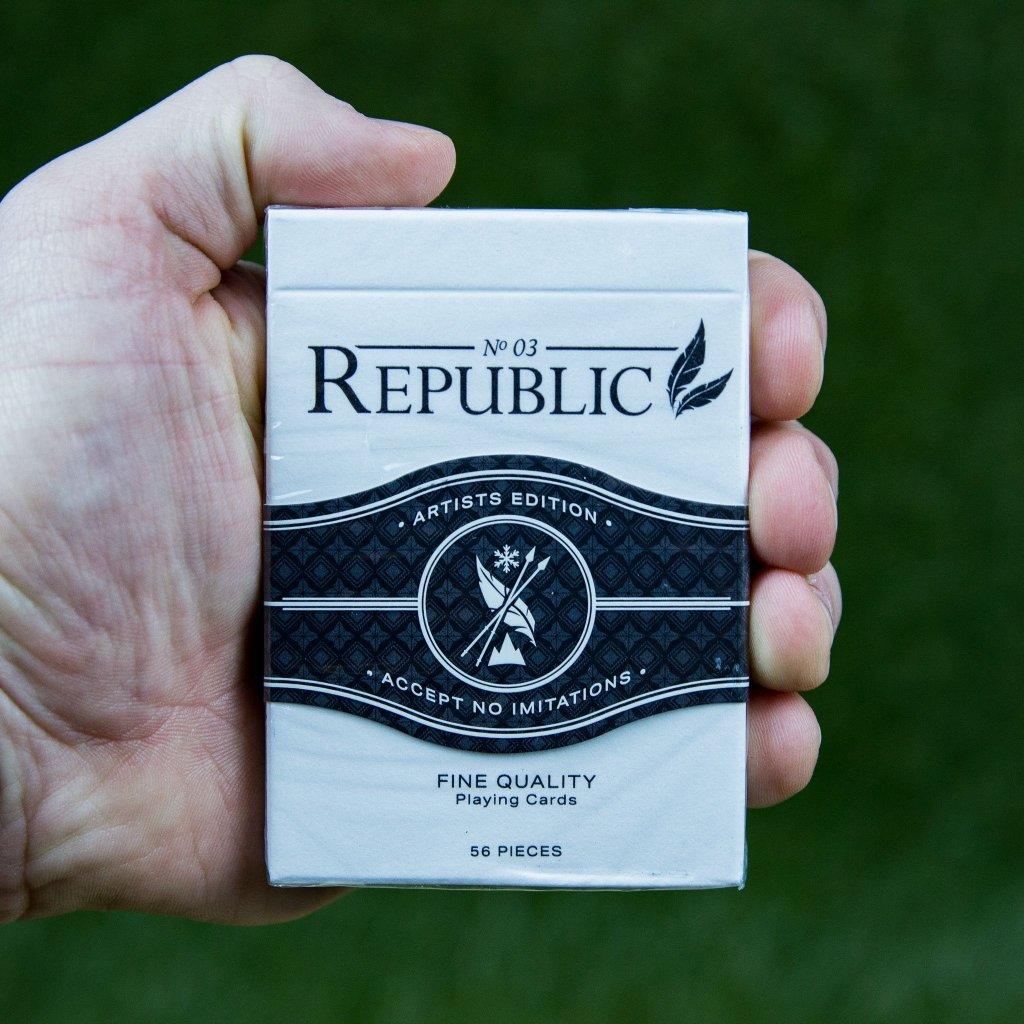 Black Republics Deck - Artist Edition (Ellusionist)