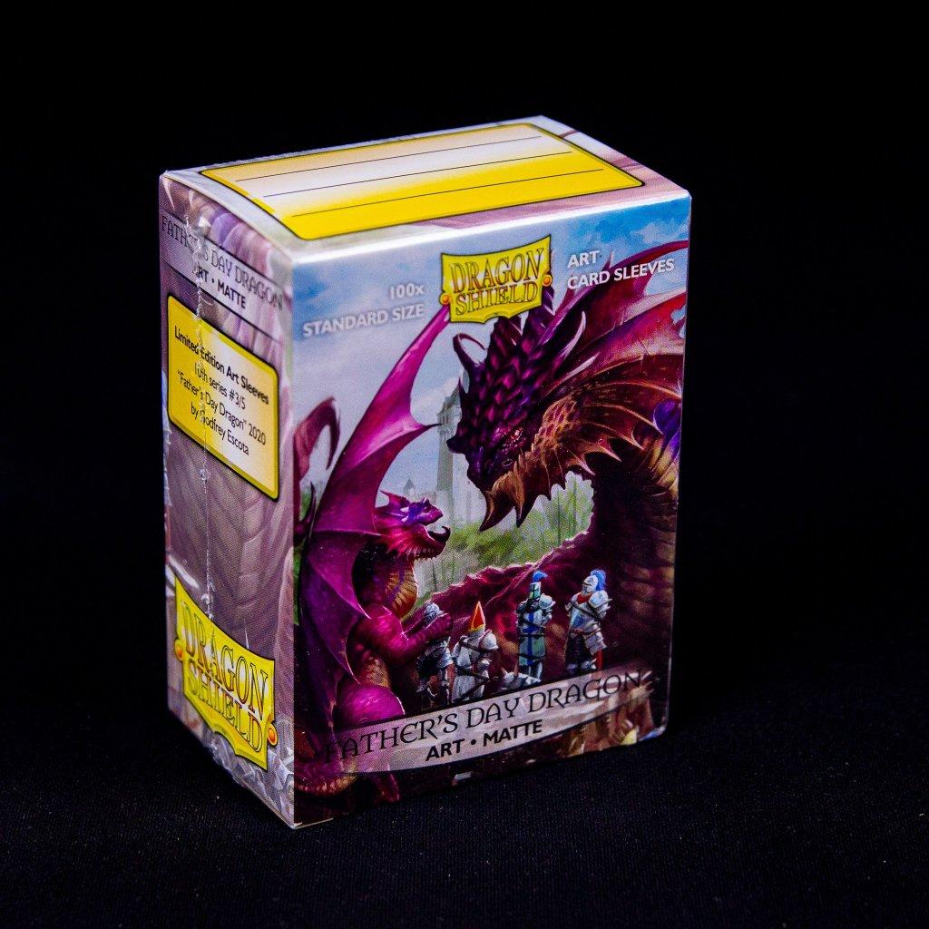 Obaly na karty Dragon Shield - Father's Day Dragon 2020 Art matte (100 ks)