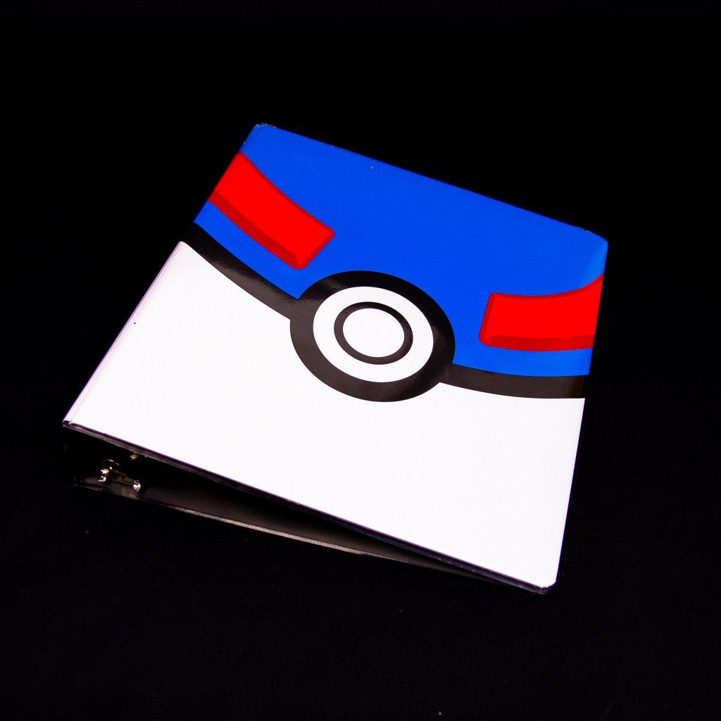 Pokemon Great Ball šanon - 3 kroužky (Ultra Pro)