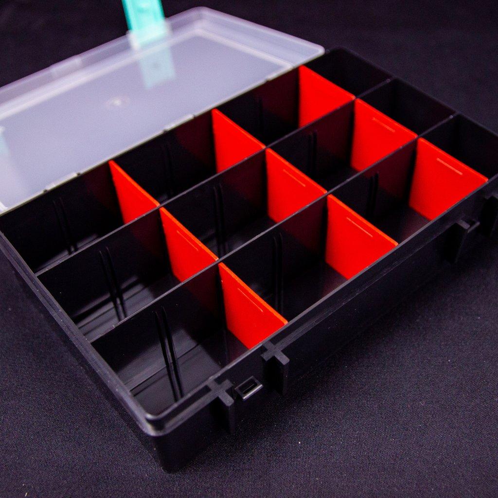 Super Box L - černý/červený (LU & KA)