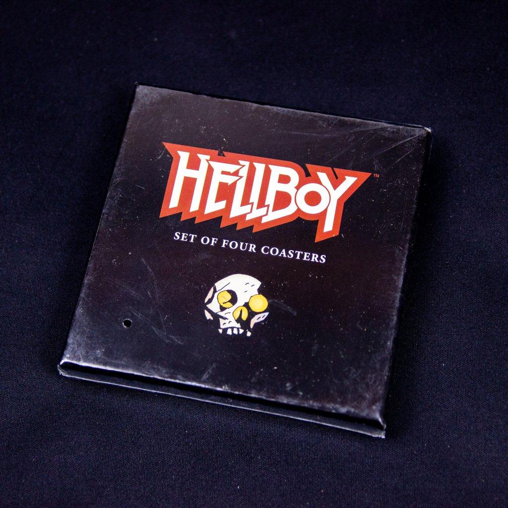 Podtácky Hellboy - Akvarely Mike Mignola 4ks (Dark Horse)