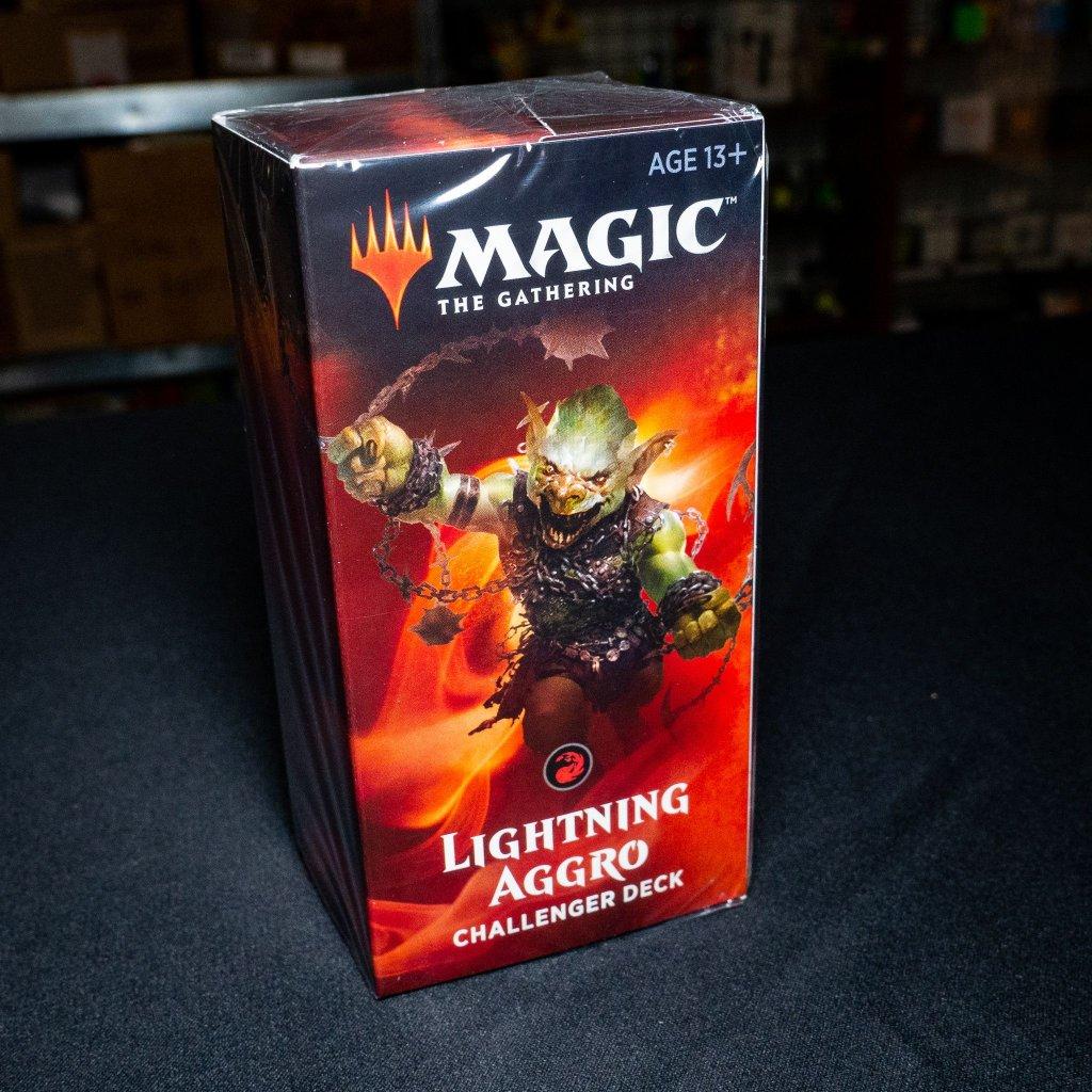 Lightning Aggro Challenger deck 2019 MTG (Magic: The Gathering)