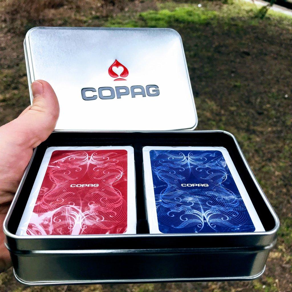 Centennial set COPAG - dvoje plastové pokerové karty
