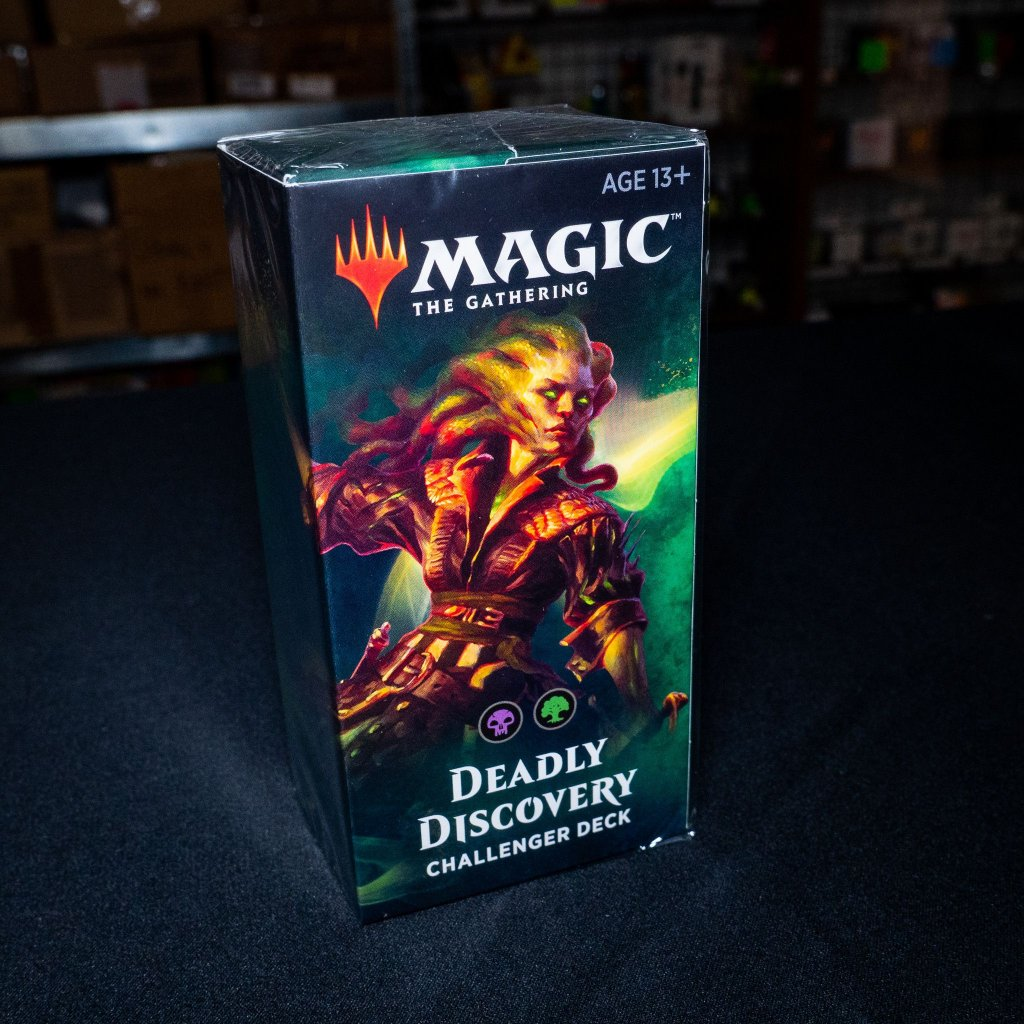 Deadly Discovery Challenger deck 2019 MTG (Magic: The Gathering)