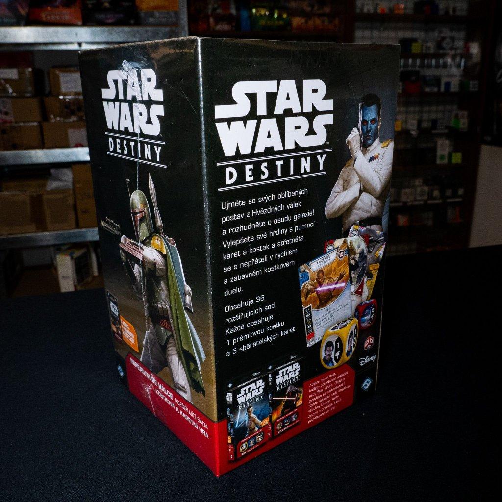 Star Wars: Destiny - Impérium ve válce Booster Pack - CZ (Blackfire)