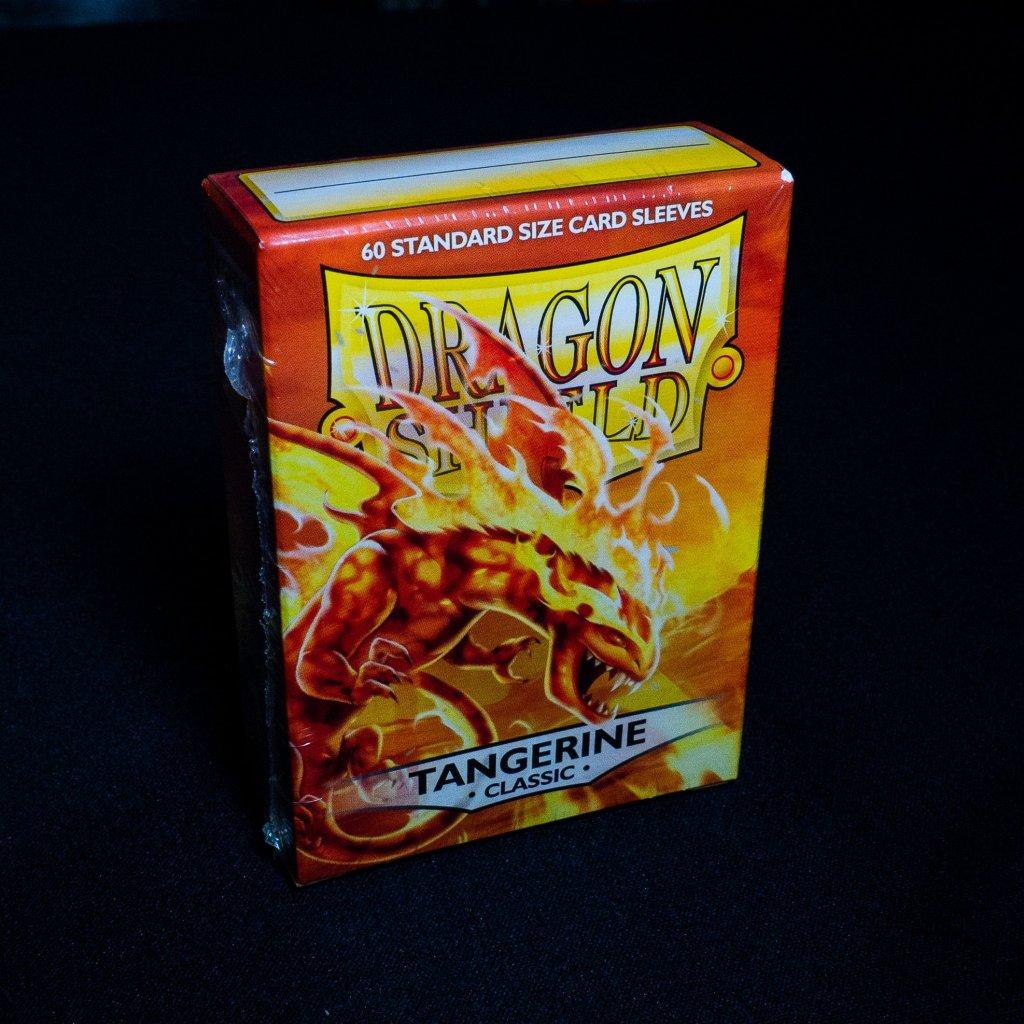 Obaly na karty Dragon Shield - TANGERINE classic (60 ks)