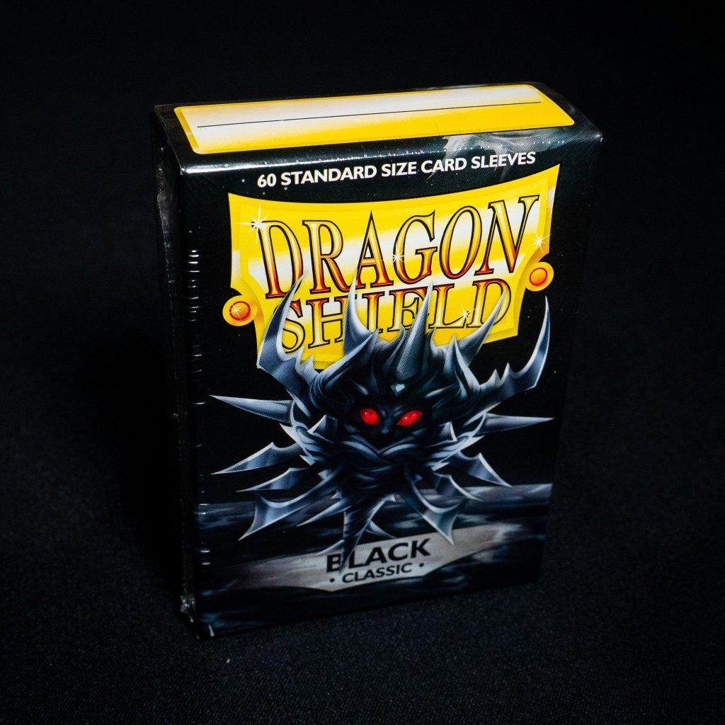 Black Classic (60ks) - Dragon Shield obaly na karty