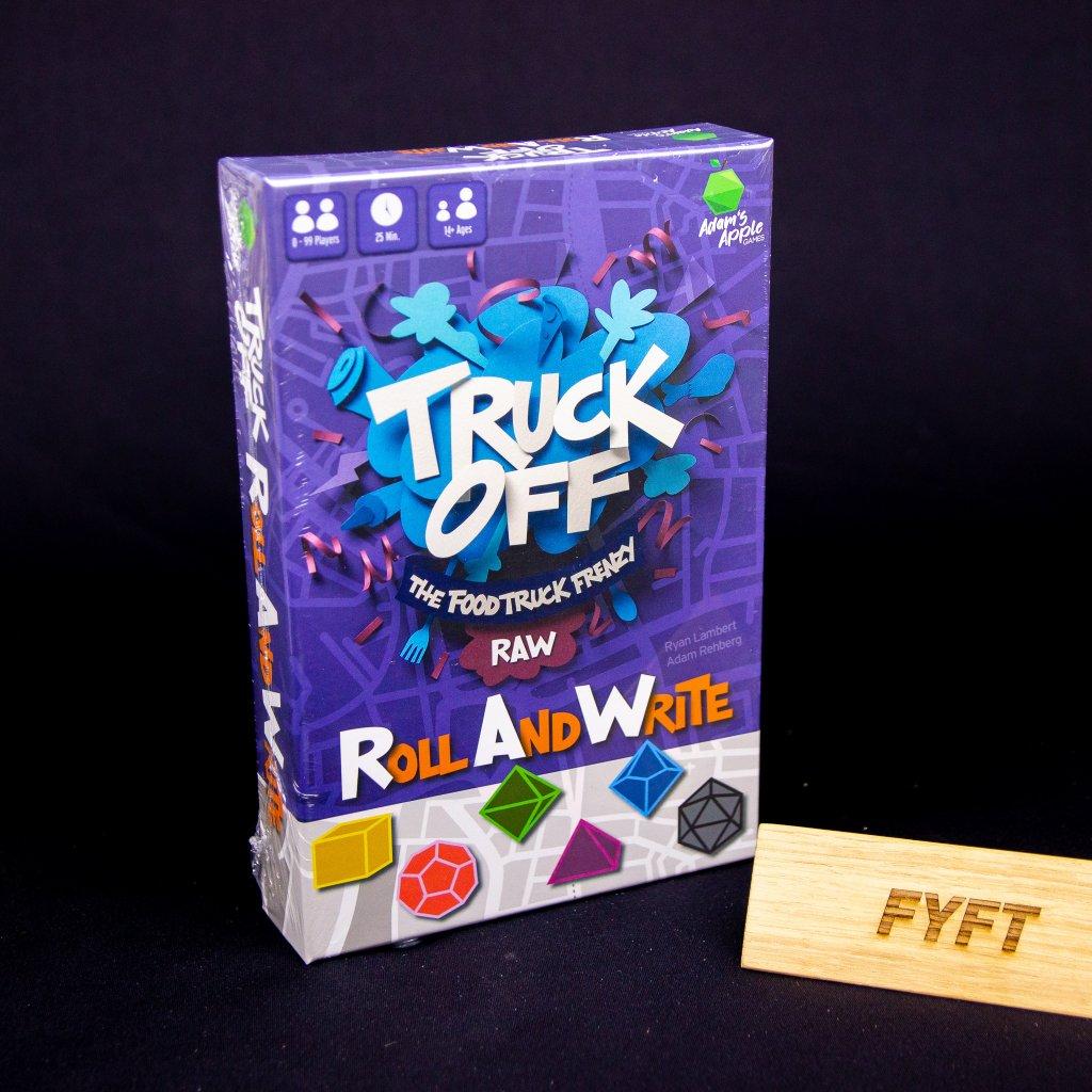 Truck Off: Food Truck Frenzy Roll & Write - EN (Adam's Apple Games)