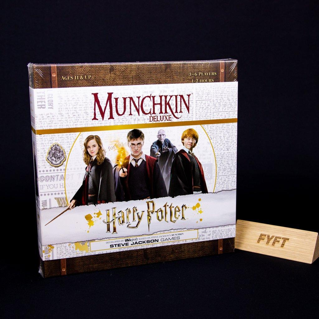 Munchkin: Harry Potter Deluxe - EN (USAopoly)