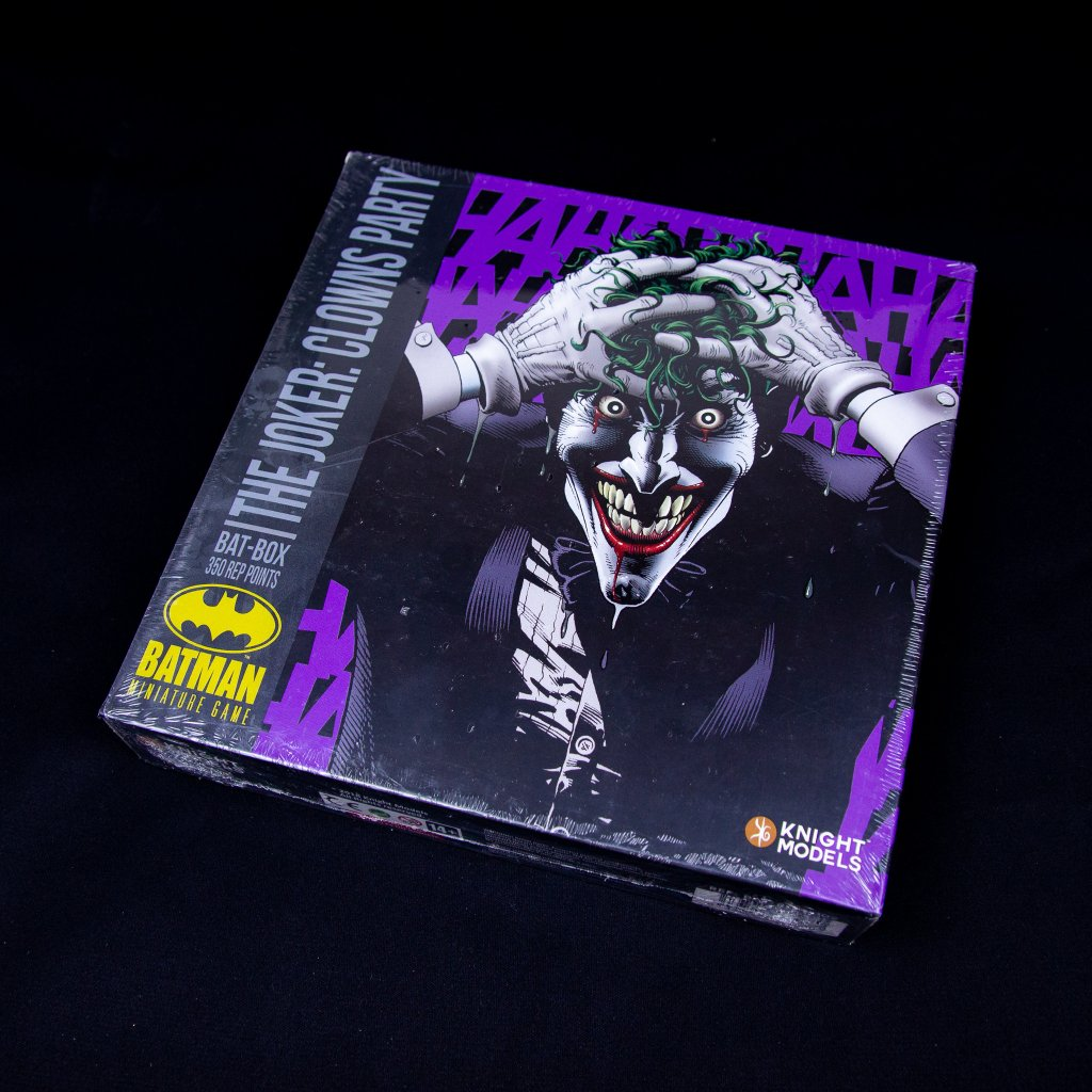 BMG: The Joker Clowns Party - Bat Box (Knight models)