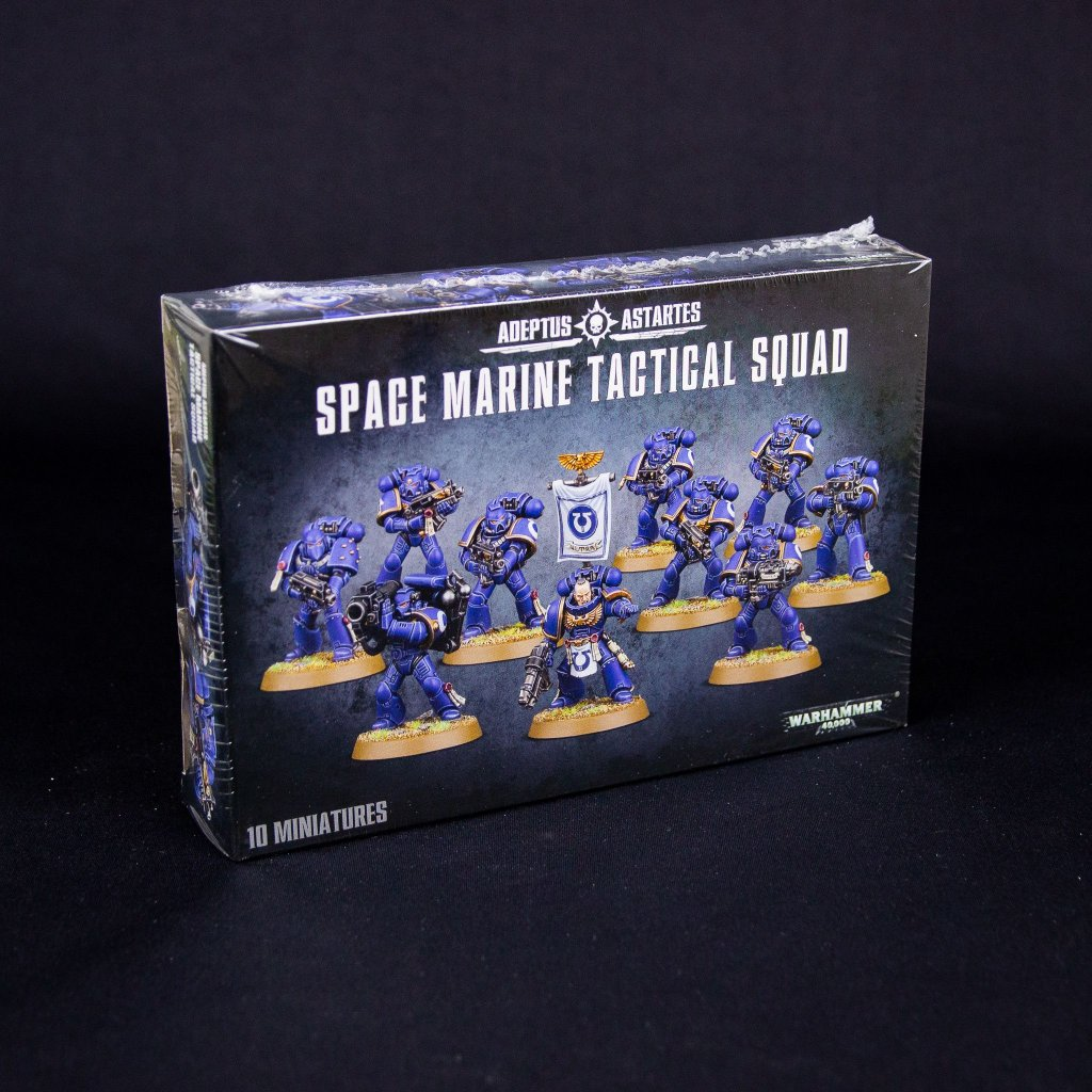 Warhammer 40000: Space Marine Tactical Squad