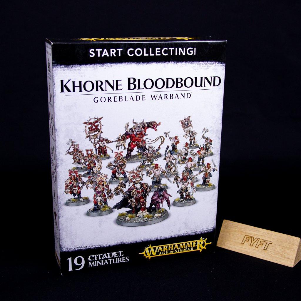 Warhammer: Age of Sigmar - Start Collecting! Khorne Bloodbound Goreblade Warband