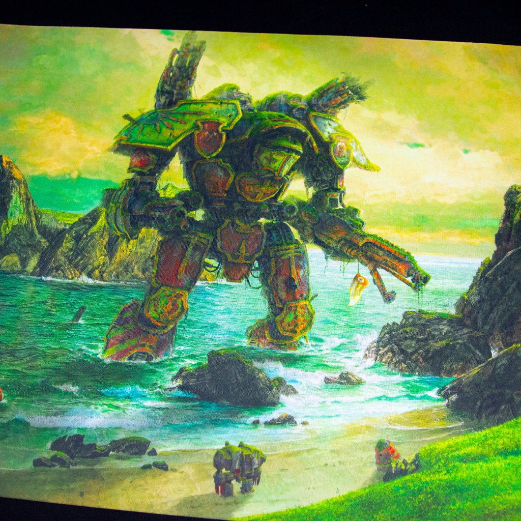 Herní podložka - Playmat: Lord of War 61 x 35 cm (Kraken Wargames)