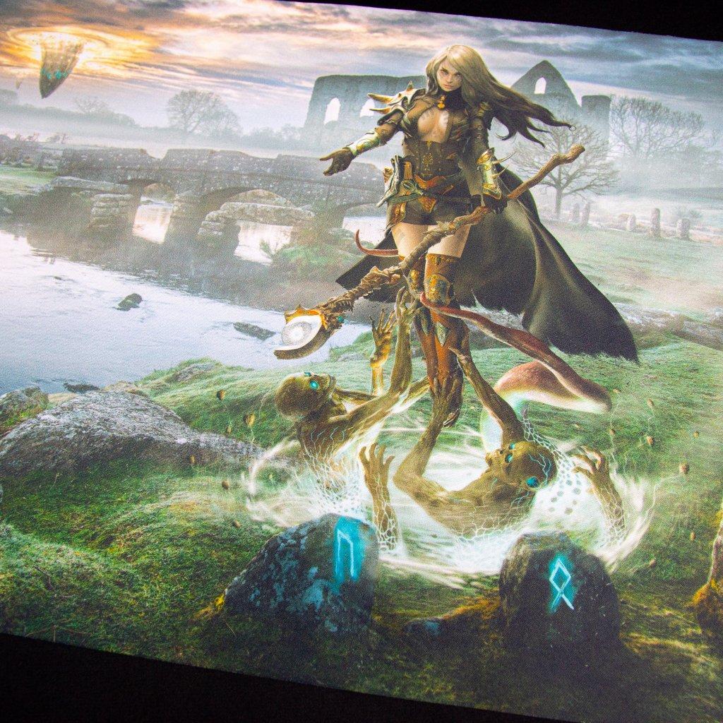 Herní podložka - Playmat: Lost Memories 61 x 35 cm (Kraken Wargames)