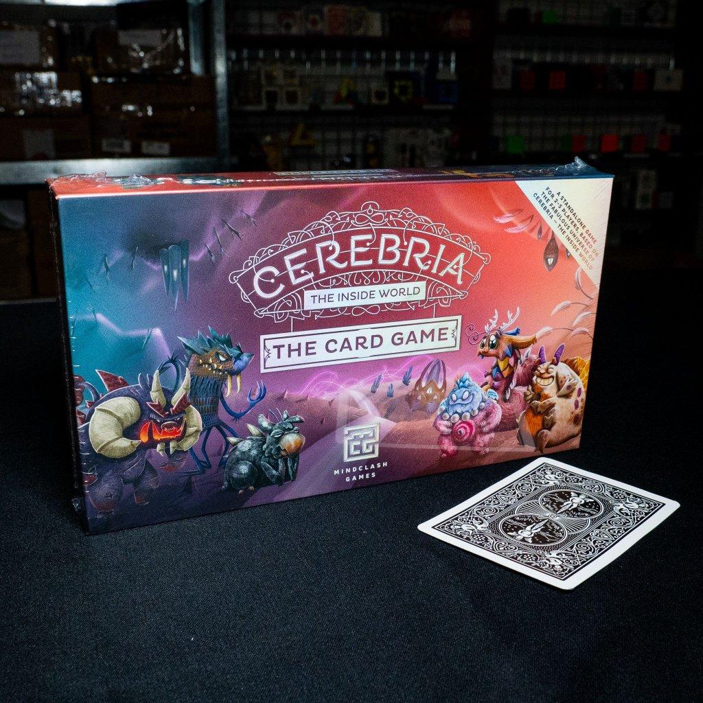 Cerebria - The Inside World: Card Game - EN (Mindclash Games)