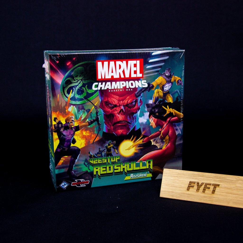 Marvel Champions: Vzestup Red Skulla - CZ (Blackfire)
