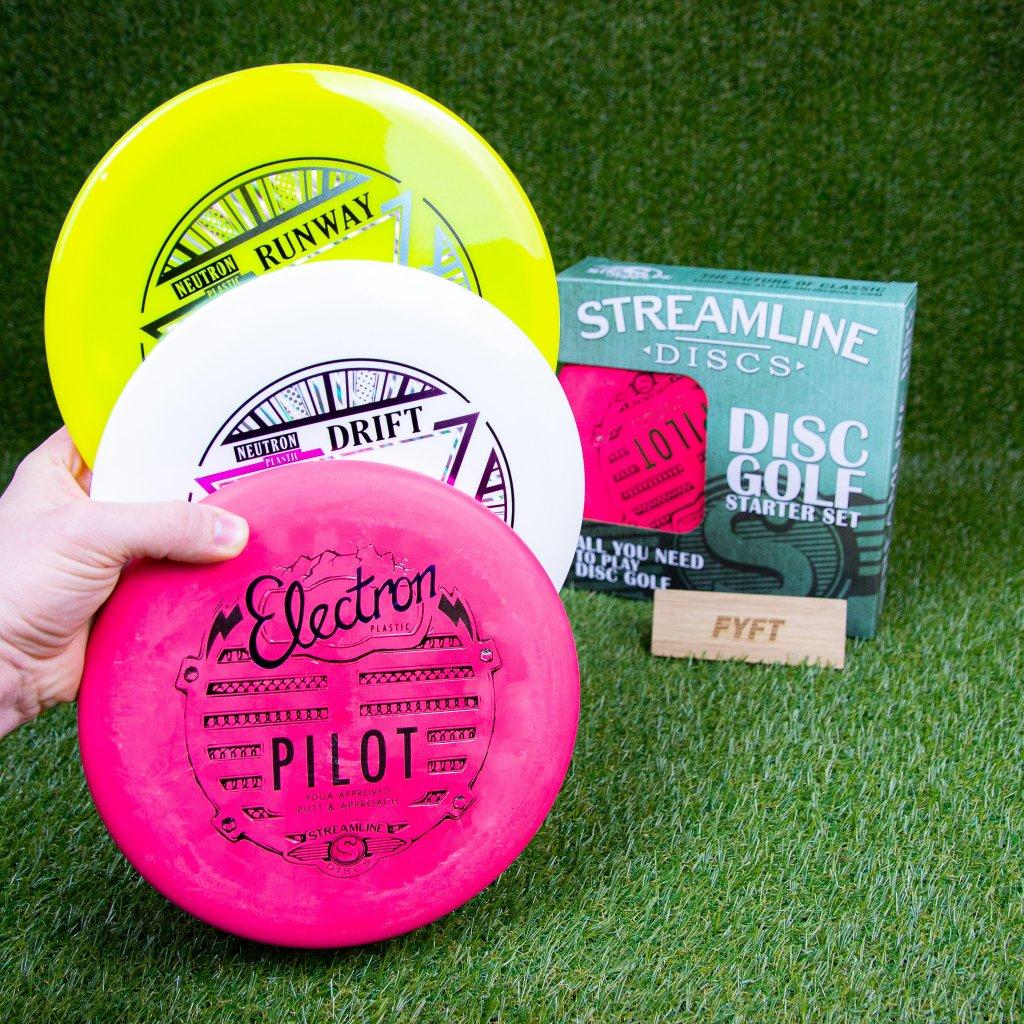 Discgolf sada Discs Premium (Streamline)