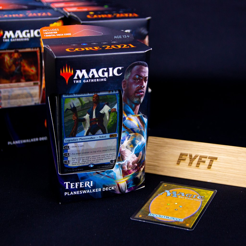 Teferi Planeswalker deck Core set 2021 MTG (Magic: the Gathering))